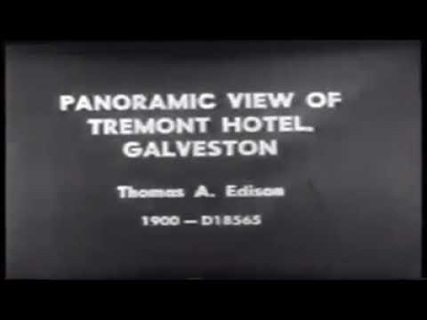1900 Galveston hurricane Edison films compilation
