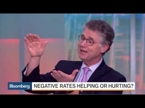 BlackRock Peter Fisher - Why Negative Interest Rates is a bad idea