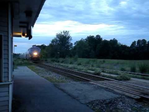 Railfanning Gananoque Ontario