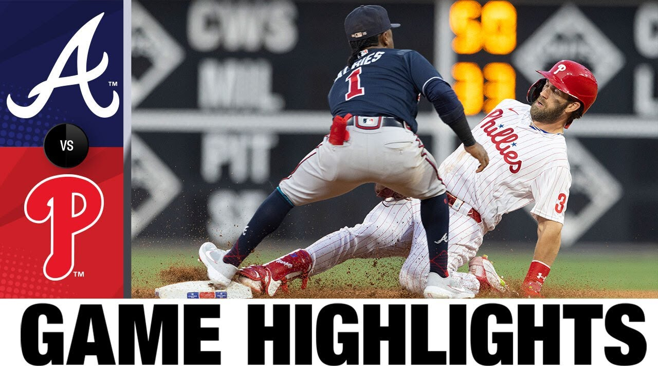Download Braves vs. Phillies Game Highlights (7/23/21) | MLB Highlights