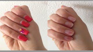 ♡ Enlever facilement capsules, gel uv, Semi-permanent, faux ongles ♡ (Céline)