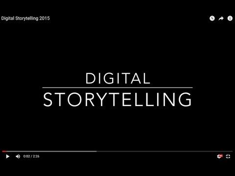 Digital Storytelling 2015
