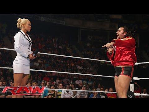 """""""Rusev blames Lana for his loss to John Cena at WWE Payback: Raw, May 18, 2015"""""""