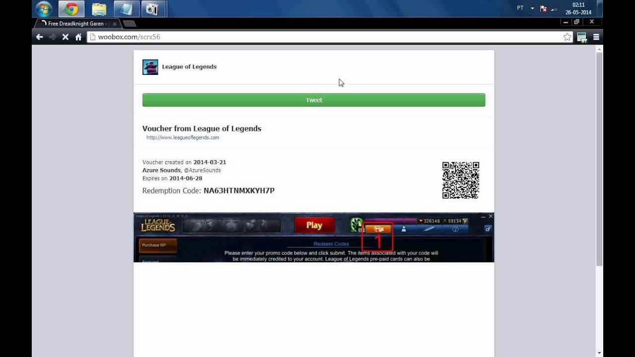 FREE SKIN - Dreadknight Garen - League Of Legends