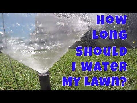 Determining Sprinkler Run Times