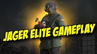 Rainbow Six Siege Jager Elite Gameplay Uniform Victory Animation Flying Ace MVP Screen