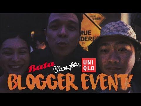 BLOGGER EVENT (BATA, WRANGLER, UNIQLO PHILIPPINES) + JERICHO ROSALES AND ARCI MUNOZ   WE DUET