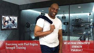 Gospel Aerobics Dumbbell Workout | Strength Training -2019 | Be Stronger In Body Soul Spirit