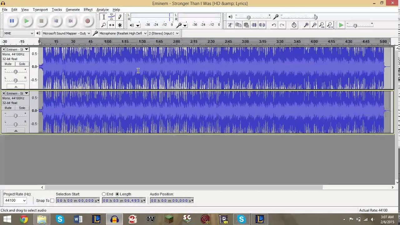 How to remove voice from song: list of programs 9