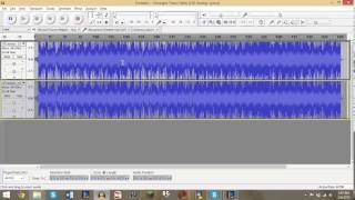 How To: Remove Vocals / Words From a Song in Audacity