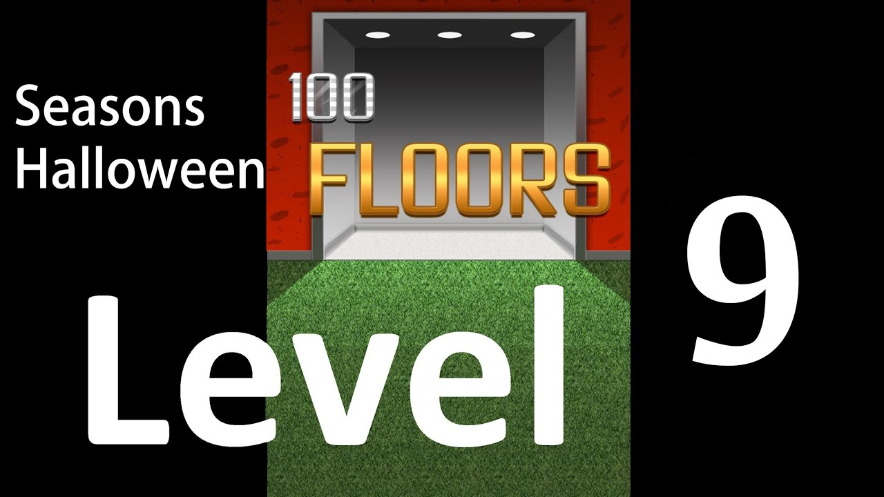 100 Floors Seasons Halloween Level 9 Floor 9 Tower