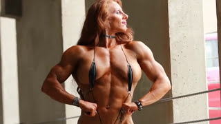 Sexy muscle women black Athletic