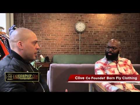 TALKOFHIPHOP Discuss Music & Fashion With Born Fly Co Founder Clive
