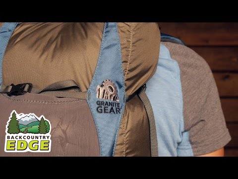 granite gear virga 26 day pack youtube