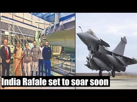 #RafaleSetToSoar: 1st made for India Rafale set to take off soon