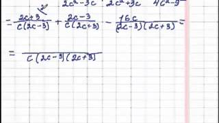 Алгебра 8 клас  Додавання і віднімання раціональних дробів