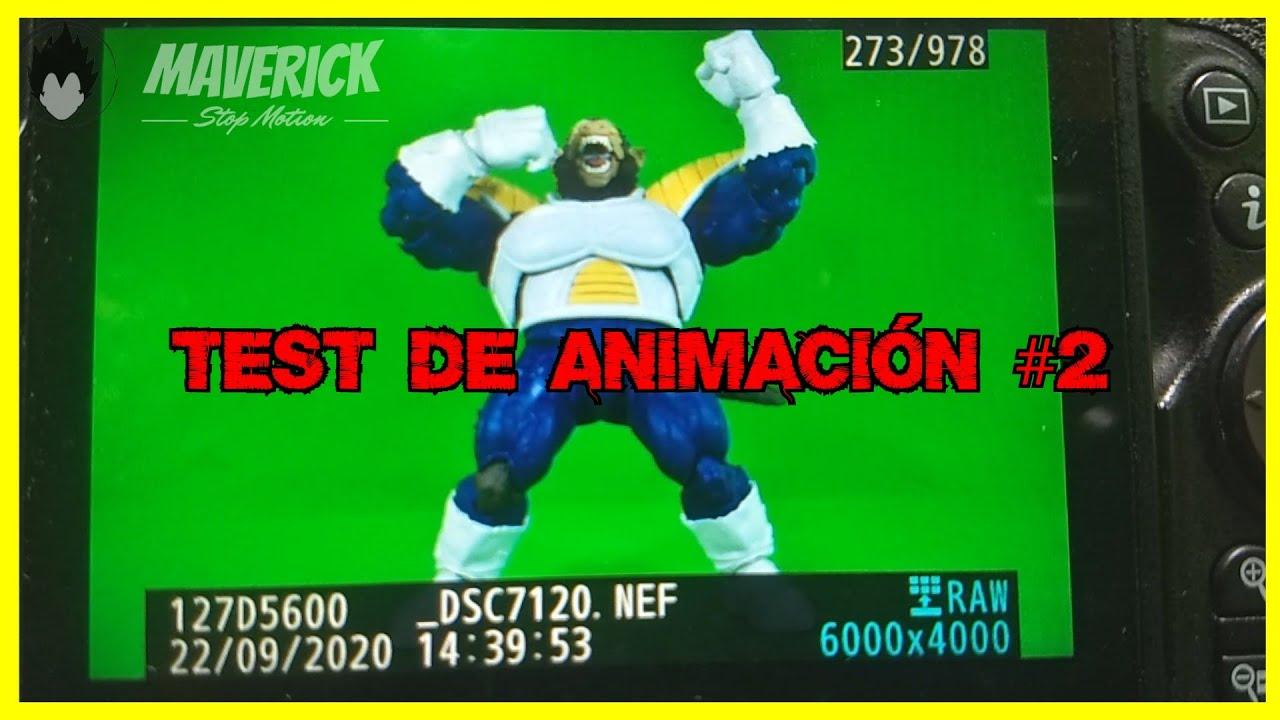 VEGETA OZARU SHF || Test de Animación Stop Motion #2 😮 || Próximamente Versión Final