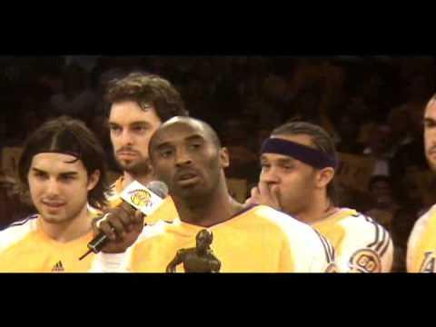 Kobe Bryant Wins Mvp Award