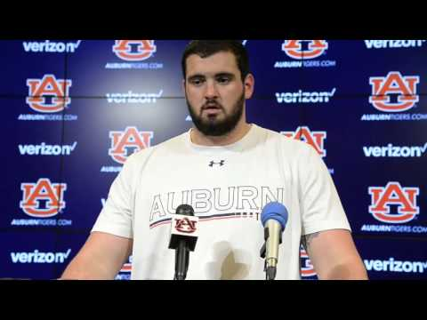 Auburn offensive lineman Austin Golson: March 10, 2016