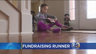 11-Year-Old Girl Runs To Raise Money For Young Cancer Patients