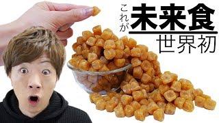【世界初】これが未来の人間の食事です。