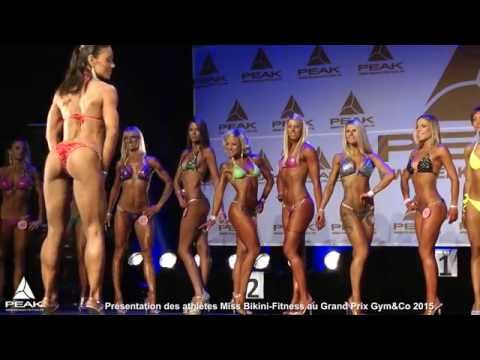 Miss Bikini-Fitness au grand Prix Gym&Co 2015 - part 1 : présentation
