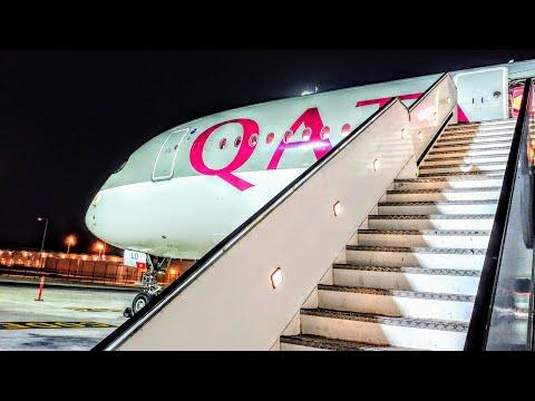 ✈TRIP REPORT | QATAR | Frankfurt-Doha | Airbus A350-900 | Economy