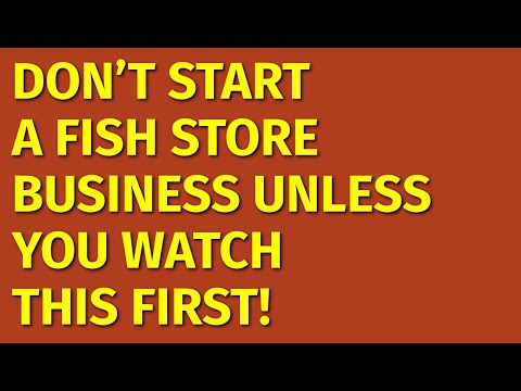 How To Start A Fish Store Business | Including Free Fish Store Business Plan Template