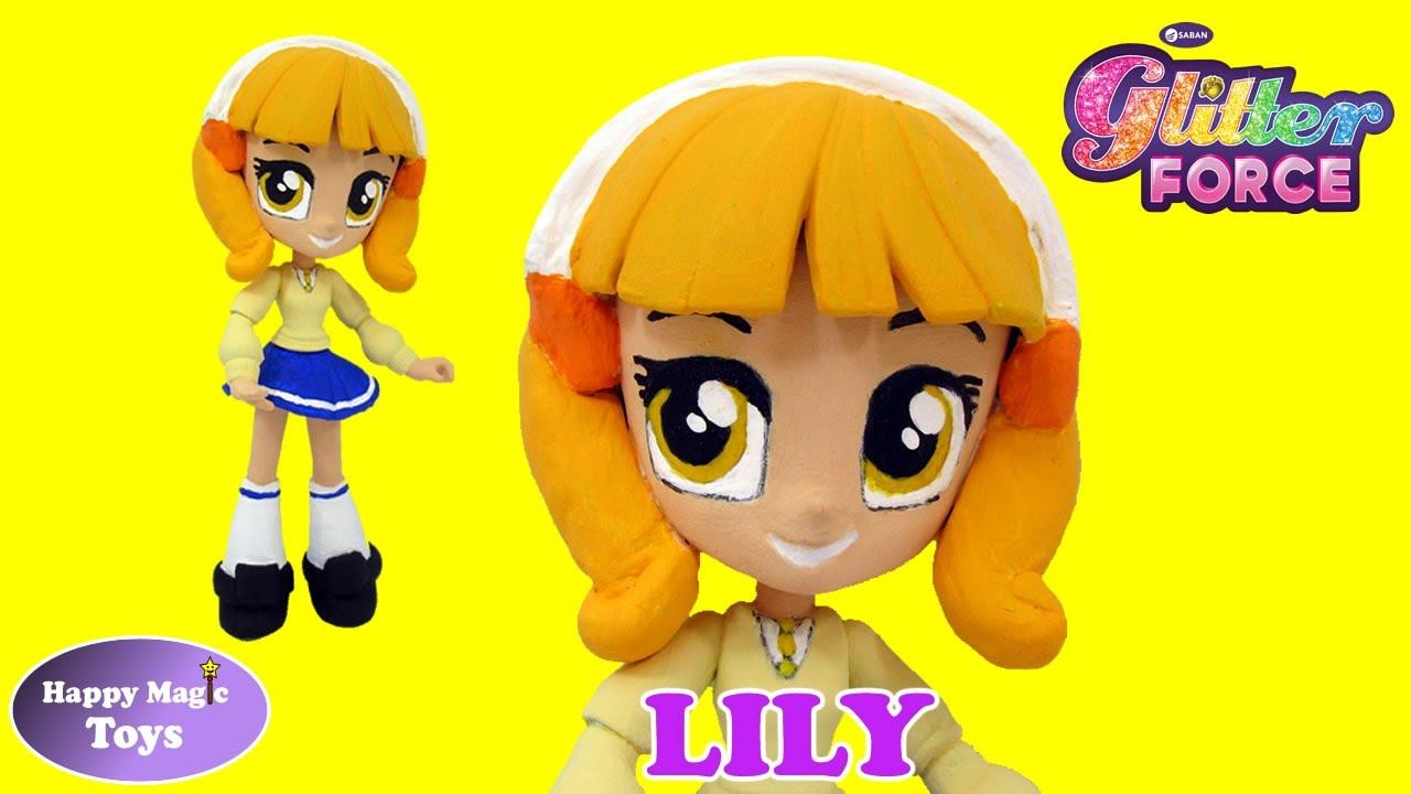 Custom Glitter Force Lily Equestria Girls Mlp Happy Magic
