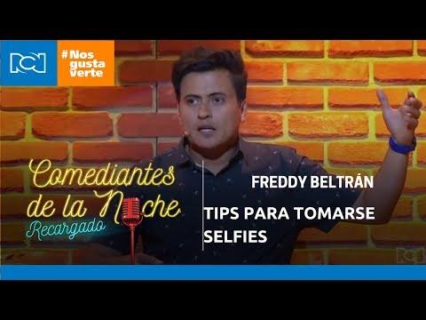 Freddy Beltrán en Comediantes de la noche - Tips para tomarse selfies