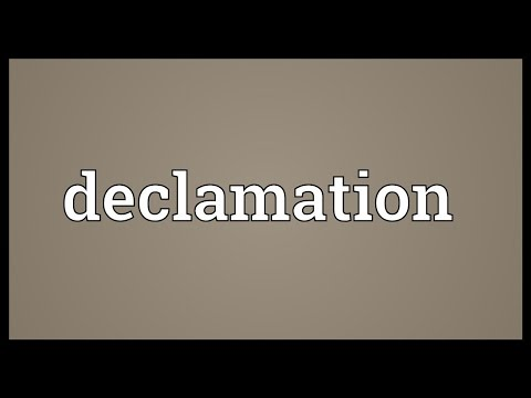 declamation about technology