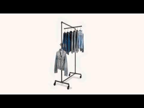 Shop Online Retail Clothing Racks, Rolling Racks & Display Racks Canada