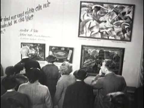 1937 Munich Exhibition of Degenerate Art