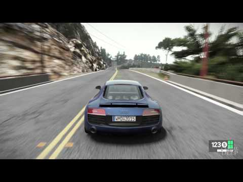 Audi R8 V10 plus Gameplay - Project Cars