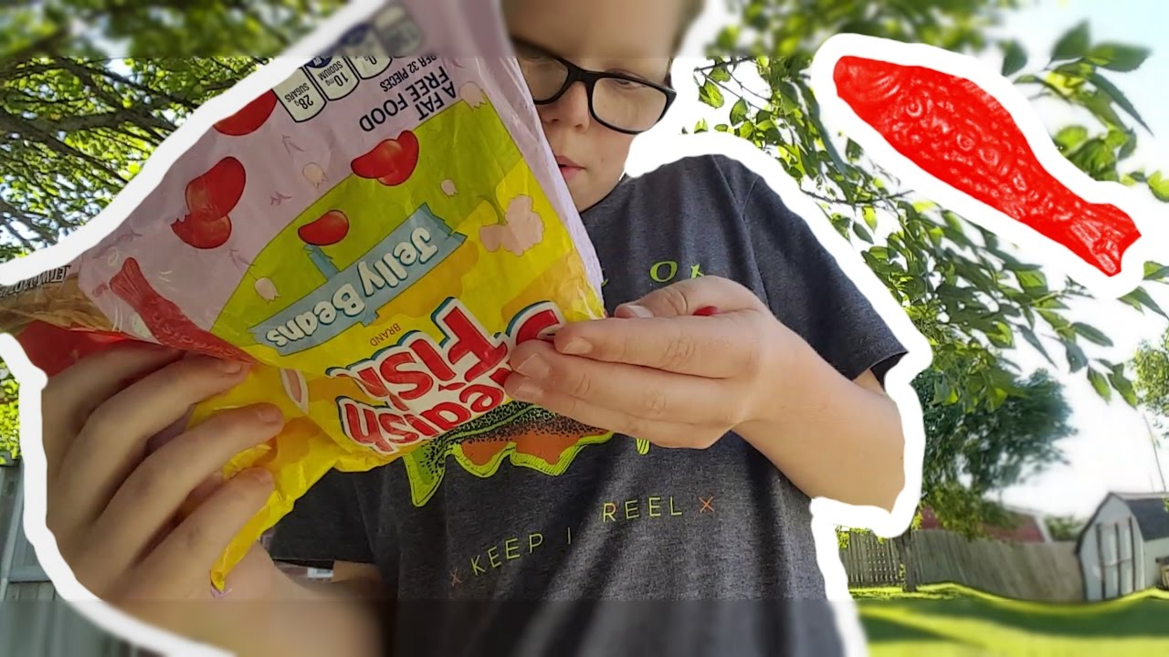 Swedish fish jelly beans notice for may youtube for Swedish fish jelly beans