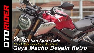 Honda CB650R Neo Sport Cafe 2019 First Impression Review - Indonesia | OtoRider