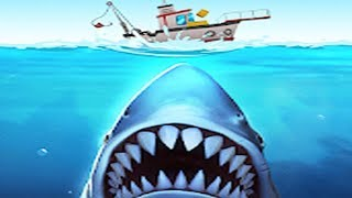 JAWS.io Gameplay Walkthrough Part 1 - Great White Shark Attack