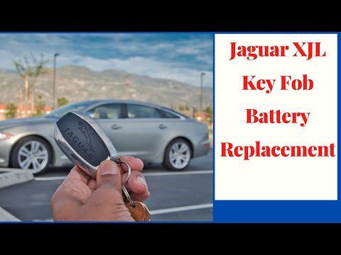 Jaguar XJL Key Fob Not Working | How To Replace The Battery