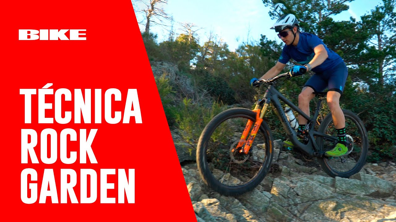 Técnica Mountain BIKE: Rock Garden