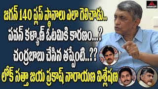 Lok Satta Jayaprakash Narayan Reaction On AP Election Results | YS Jagan | Chandrababu | Mirror TV