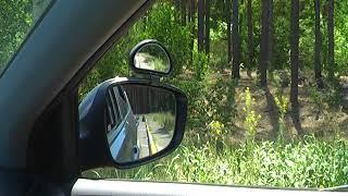 Как выровнять машину вдоль бордюра