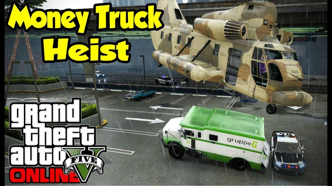 Gta 5 online money truck heist heists preparation ep for Fenetre sale gta 5
