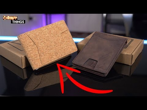 An EDC wallet made of CORK?? Andar Wallets: THE APOLLO Review!