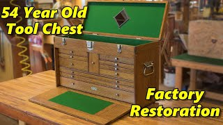 Gerstner & Sons Tool Chest Restoration