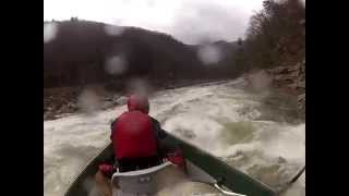 nrs drifter running roostertail on the nolichucky river in tn