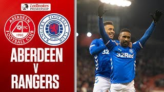 Aberdeen 2-4 Rangers | Penalties and Two Red Cards as Defoe Secures  Points! | Ladbrokes Premiership
