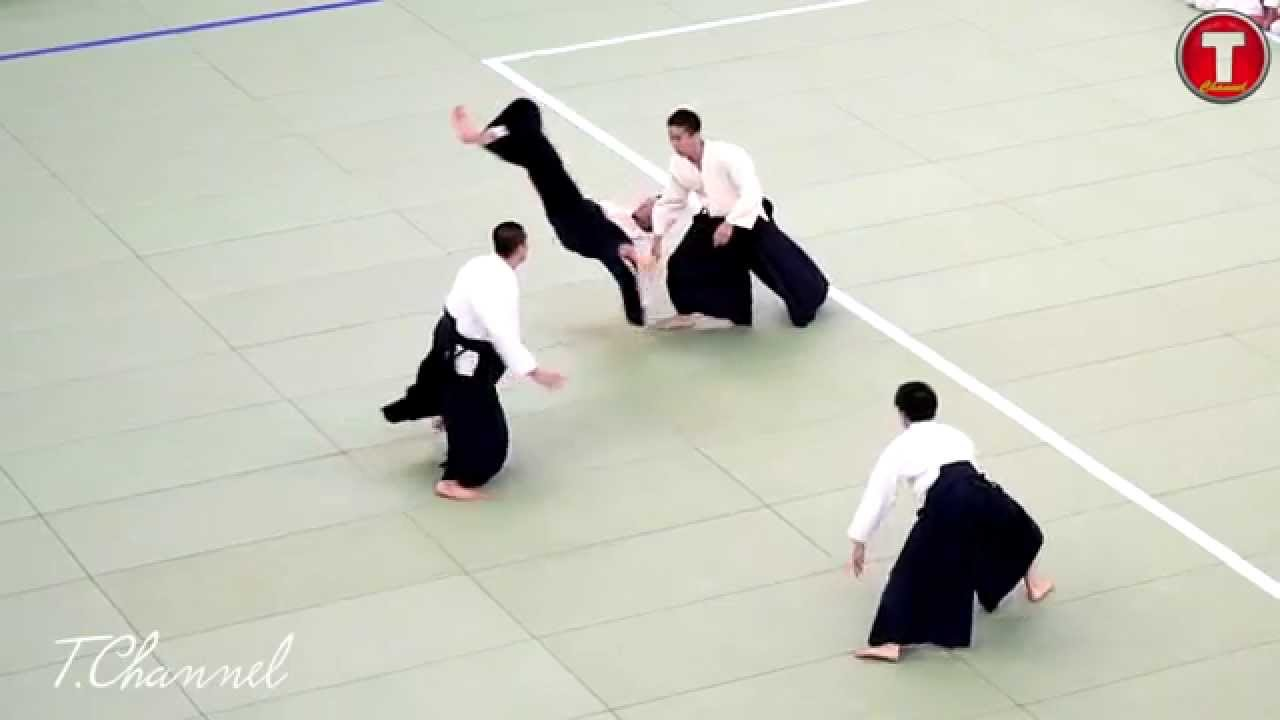 Beauty Of Aikido 合気道 in 120p Slow Motion With Sony A7s