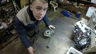 Передний редуктор квадроцикла Polaris Sportsman 800   разборка и дефектовка