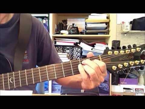 Into Temptation by Neil Finn - Guitar Lesson
