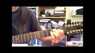 Into Temptation by Neil Finn - Guitar Lesson